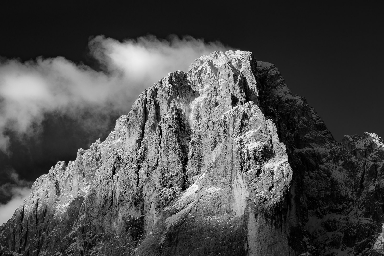 Dolomites Photography - Sunrise at Langkofel