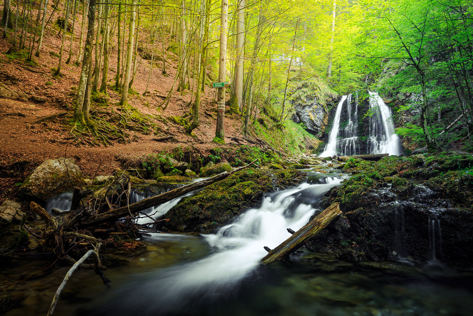 Waterfall Photography - Spring Time at Josefsthal